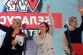Presidential election in Belarus: a trio of women attacking Lukashenko