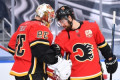 Talbot shuts out Stars as Flames take 2-1 series lead