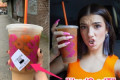 TikTok star Charli D'Amelio debuted a super sweet 'Charli' cold brew recipe with Dunkin' Donuts and it tastes like a sugar high
