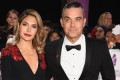 Robbie Williams and Ayda Field treat birthday girl Teddy to the cutest pancake cake!