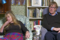 Gogglebox's Giles and Mary introduce viewers to a very NSFW word 'wankathon'