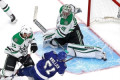 Stars praise Khudobin after dominant Game 1: 'He's been a rock for us'
