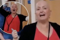 Linda Nolan marks the end of her chemotherapy treatment