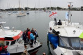 Spi Ouest-France. Lorient fishermen block the departure of boats