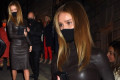 Rosie Huntington-Whiteley stuns during night out with Jason Statham