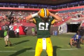 Aaron Rodgers Unleashed the Hingle McCringleberry Touchdown Celebration