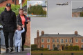 Rooneys' dream £20m mansion built on Manchester Airport's flight path