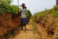 'Madman' digs for decades to bring water to dry Indian village