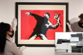 Banksy artwork picked up in a museum gift shop found to be an original