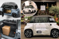 White van teen: Citroen's electric My Ami Cargo could become the dinkiest van on Britain's roads - with just a 47-mile range and it can be driven by a 16-year-old